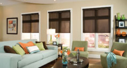 Comfortex ECO Green Roller Shades
