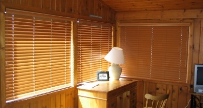 Comfortex Woodwinds Faux Wood Blinds